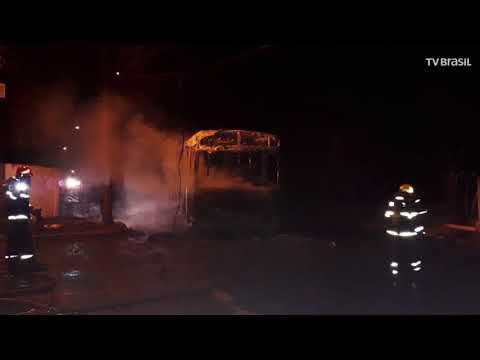 Mais ônibus são incendiados em Minas Gerais