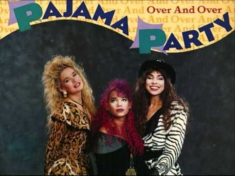 "PAJAMA PARTY - Over And Over / 12"" BFE Remix (STEREO)"