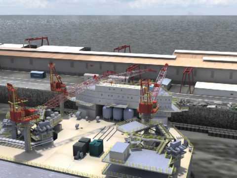 KeppelFELS   Jack up rig construction process