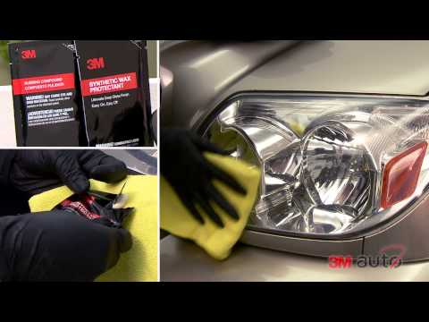 Medium To Heavy Duty Headlight Restoration With 3M