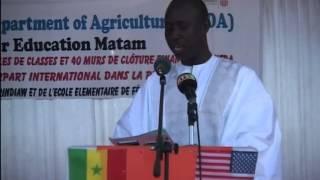Ambassador Lukens at Matam