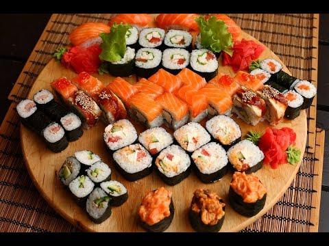 Պատրաստենք միասին սուշի-ռոլ / вместе приготовим суши ролл / Make Sushi Roll Together