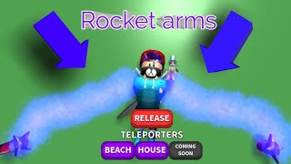 How to get rocket and puzzle arms in noodle arm roblox+2 codes