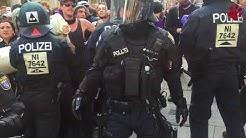 [taz G20]: Ohne Worte  Polizeigewalt gegen Blockierer