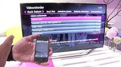 IFA: Das Smartphone wird zur Fernbedienung für Entertain