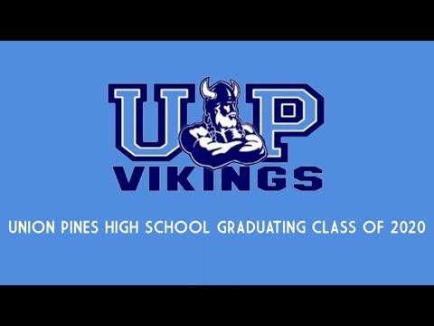 MCS Union Pines High School 2020 Graduation Ceremony