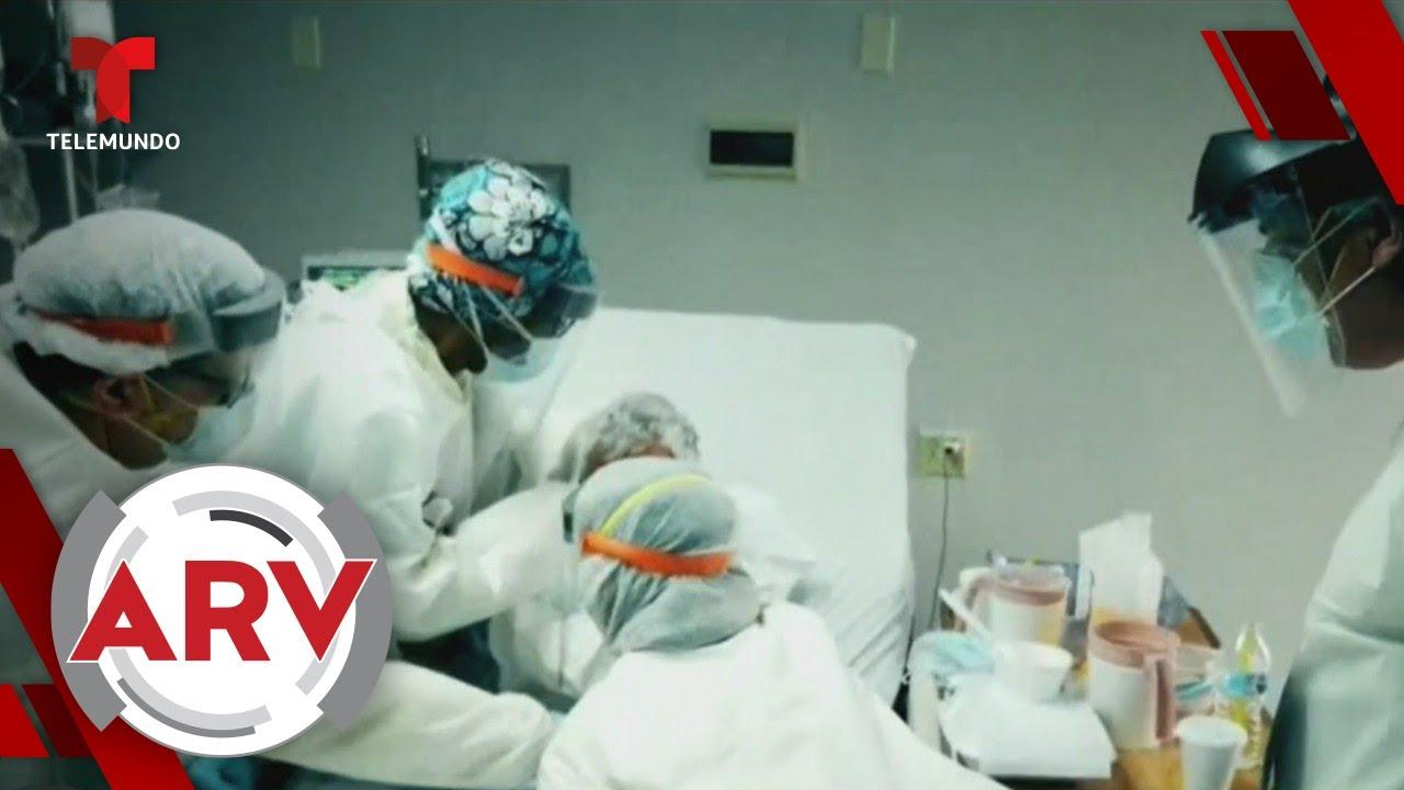 Los Ángeles tiene más contagios de COVID-19 que 44 estados de EE.UU. | Al Rojo Vivo | Telemundo