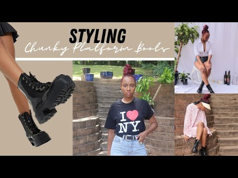 how-to-style-doc-marten-dupes -platform-chunky-boots-lookbook