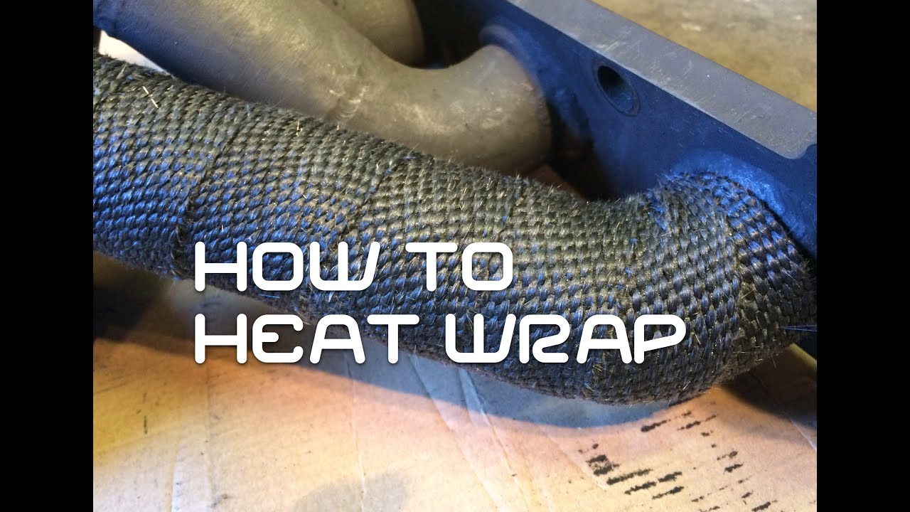 Exhaust Heat Wrap >> How to Heat Wrap your exhaust. - YouTube