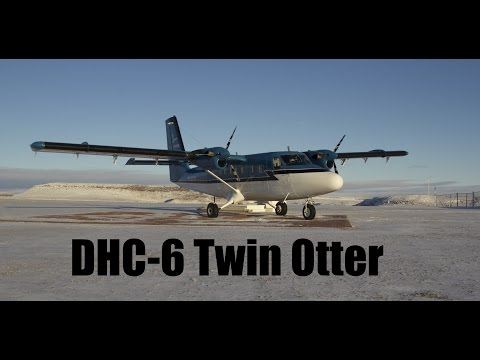 Flying a Twin Otter in Inuvik