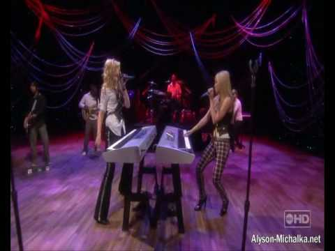 Aly & AJ- Potential Breakup Song Live (The View)