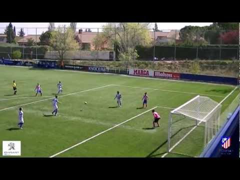 Atlético de Madrid Féminas -Sporting Club de Huelva Segunda parte