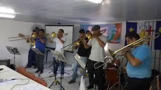 "Trombomba Quarteto de Trombones música ""lamento sertanejo"" Dominguinhos"