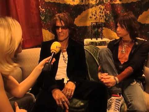 Aerosmith Interview- Molson Center Montreal