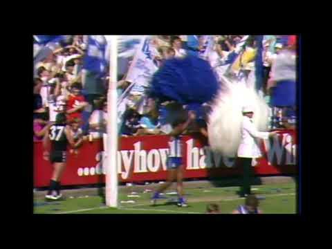 David Dwyer Goal 1985 Round 3