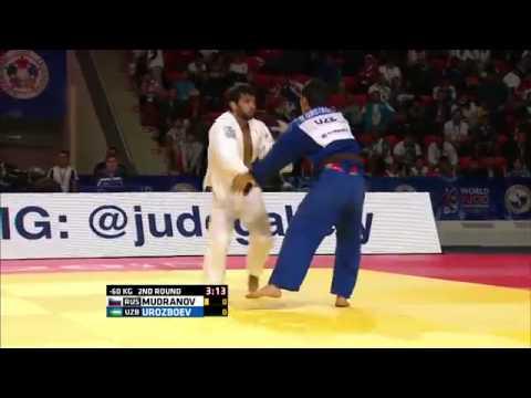 Diyorbek Urozboev vs Beslan Mudranov World Judo Championships 2015 - Astana