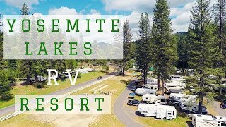 Camping 🚍🏕 At Yosemite Lakes RV Resort Campground // Yosemite National Park Preview 😎