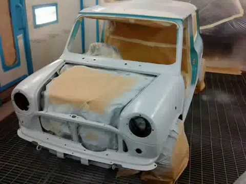 Classic Mini Cooper Restoration