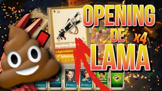 I NEVER HAVE A CHANCE! Opening llama on Fortnite Save the World