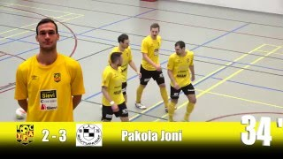 2.4.2016 Sievi Futsal-Ruutupaidat kooste