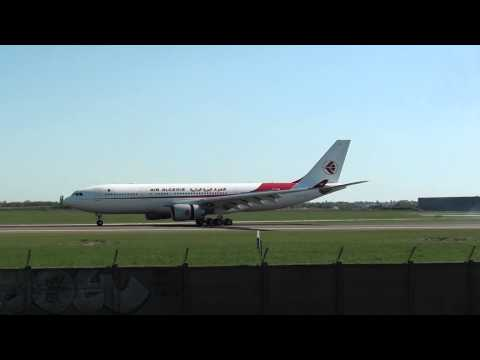 Air Algerie A330-202 landing at Paris Orly