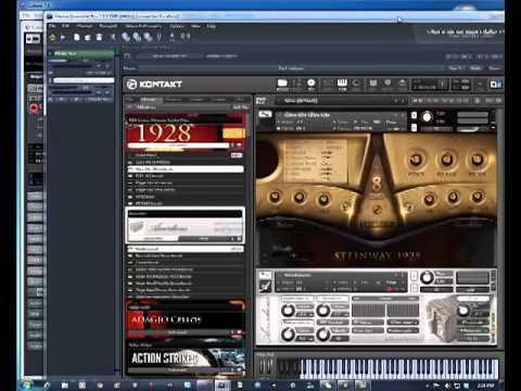 Using Vienna Ensemble Ve Pro 5 With Cubase 75 Youtube