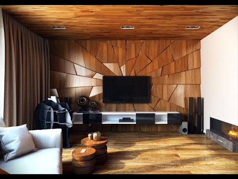 Awesome Fresh Living Room/TV Wall Design Ideas