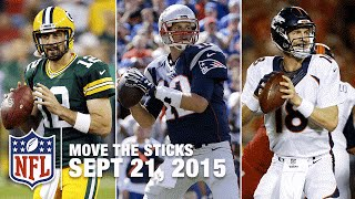 Rodgers vs. Brady and Romo's Injury | Move The Sticks (Week 2) | 09/21/15