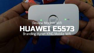 Unboxing & review modem wifi huawei e5573 - hinet king mobile wifi