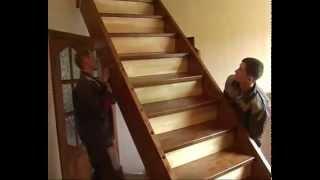 Монтаж типовой лестницы своими руками(Коротко рассказывается о том как провести монтаж типовой лестницы в доме самостоятельно. Больше можно..., 2013-11-13T13:11:04.000Z)
