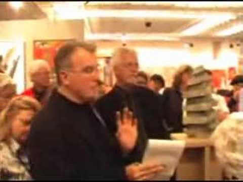 Paul Lorenz lectures at the Florence Biennale 2007
