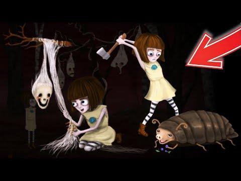 Маленькая Девочка Попала в Кошмарный Лес! - Fran Bow