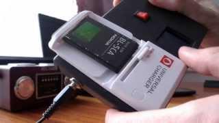 Зарядник  с цветным дисплеем из старого телефона