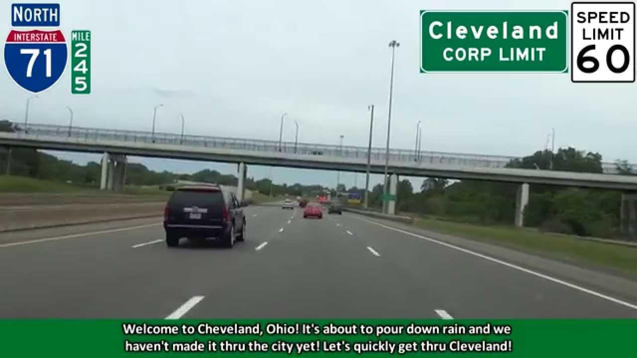2K14 (EP 18) I-71 North to I-90 West: Cleveland, Ohio