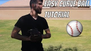 How To Throw Curvęball In Baseball Right Handed STEP BY STEP