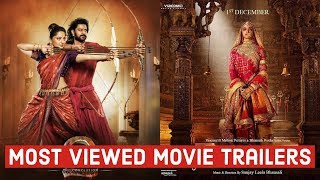 Top 10 Most Viewed Movie Trailers on Youtube | Most Viewed Bollywood Trailer