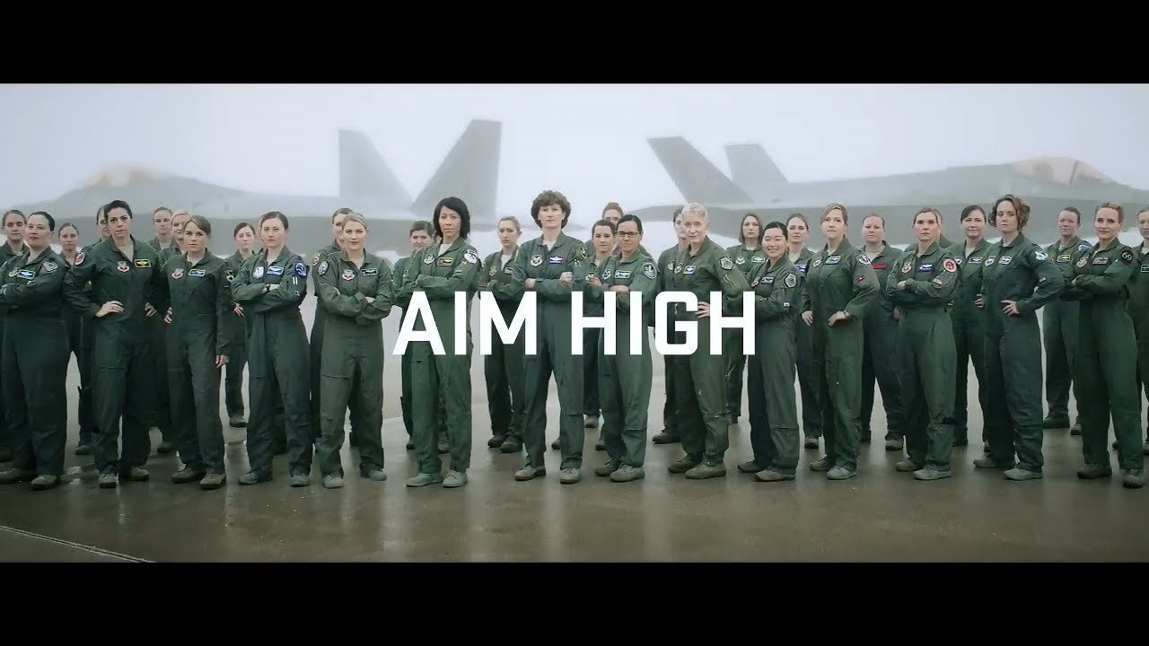 USAF Female Fighter Pilots: March 8 recruitment campaign upcoming movie