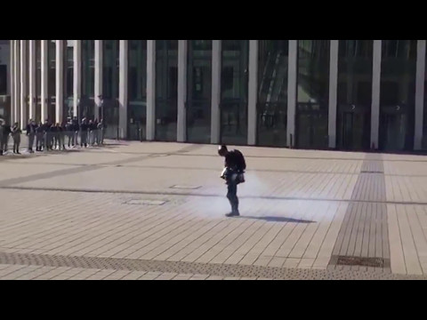 Richard Browning's Iron Man Style Jet Pack Test - May 2017