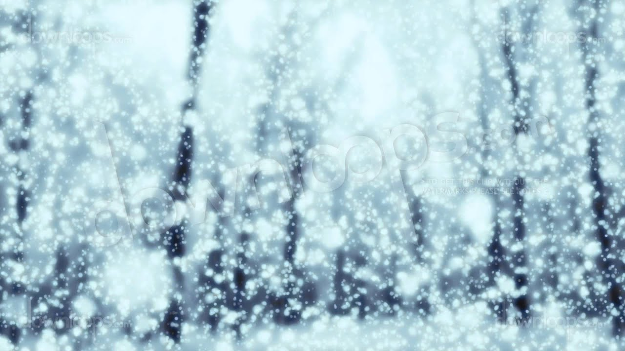 Free Animated Snow Falling Wallpaper Magical Snow Winter And Christmas Motion Background