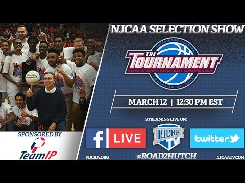 2018 NJCAA DI Men's Basketball Selection Show sponsored by TeamIP