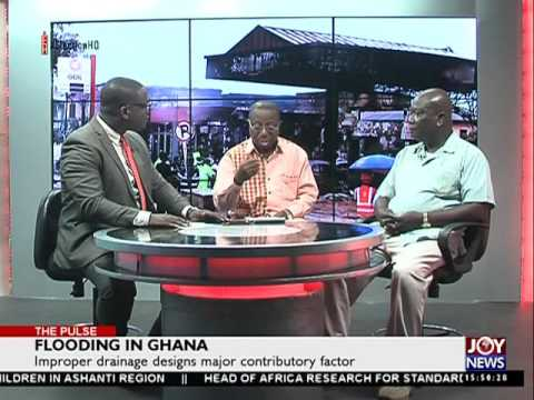 Flooding in Ghana - The Pulse on Joy News (14-6-16)