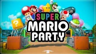 Super Mario Party - Mini Games With The Crew