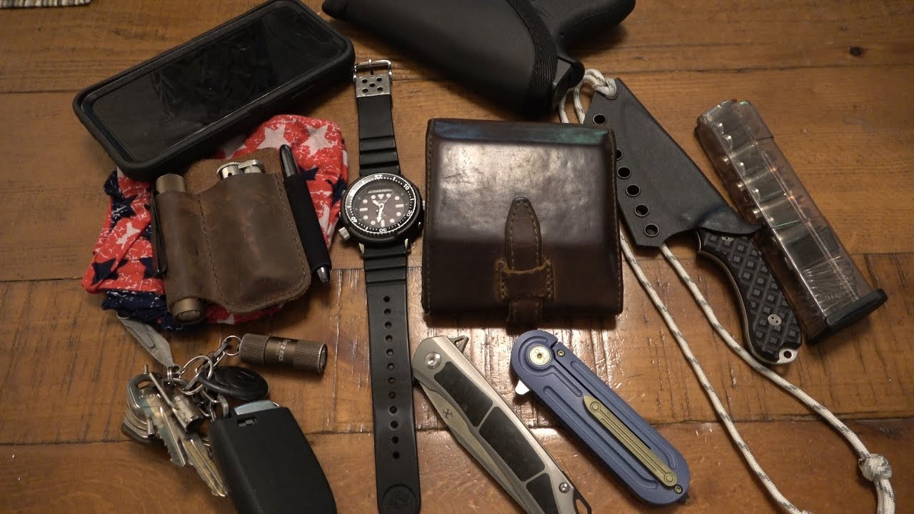 EDC UPDATE : New Favorite Neck Knife, Other EDC Gear, & Some Random Life Advice Towards The End...
