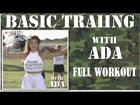 Basic Training with Ada Full Body Workout, Aerobics and Toning Workout, All Levels