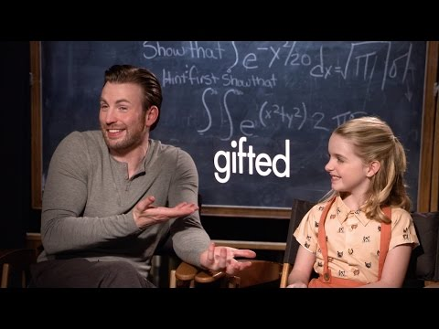 GIFTED: Chris Evans, McKenna Grace, Octavia Spencer, and Jenny Slate - Movie Interview (2017)
