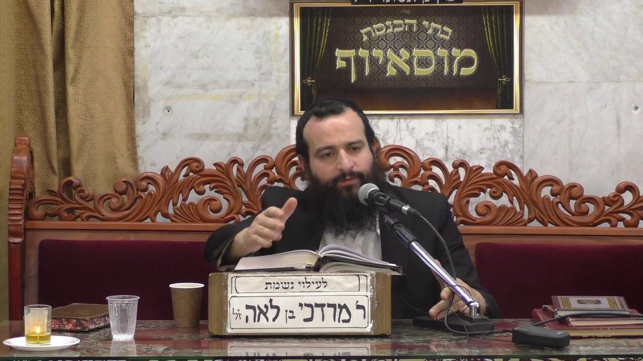 הרב אברהם זרביב נדרים ונדבות