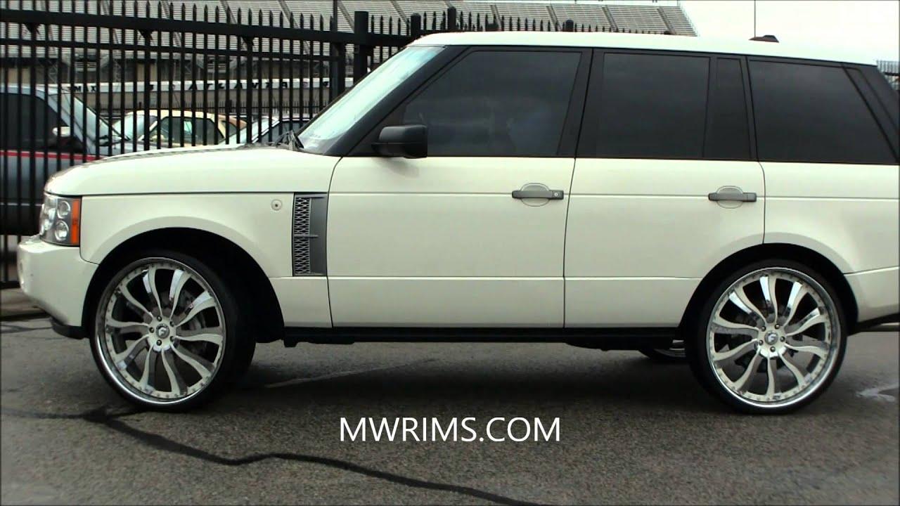 Range Rover Atlanta >> RANGE ROVER ON FORGIATO INFERNO RIMS STUNTFEST 2013 atlanta - YouTube