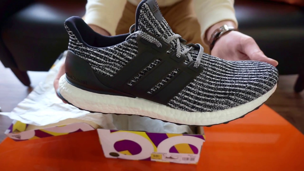 newest collection faa61 bca62 Adidas UltraBOOST 4.0 Men's Running Shoe SKU# BB6179 - RevUpSports Unboxing