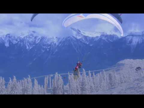 Paragliding at Revelstoke Mountain Resort