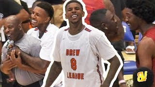 Nick Young WILD Drew League PLAYOFF FINISH! Winner Goes To CHAMPIONSHIP TOMORROW! NO MVPS SHOW UP!